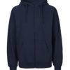 Navy hettejakke - 100 % økologisk bomull » Etiske & økologiske klær » Grønt Skift