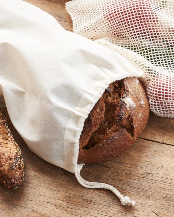 Brødpose i 100 % økologisk bomull » Etiske & økologiske klær » Grønt Skift