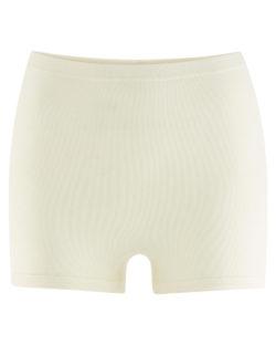 Naturhvit shorts - 100 % økologisk bomull » Etiske & økologiske klær » Grønt Skift
