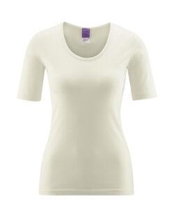 Naturhvit t-skjorte - 100 % økologisk bomull » Etiske & økologiske klær » Grønt Skift