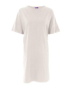 Naturhvit nattkjole - 100 % økologisk bomull » Etiske & økologiske klær » Grønt Skift