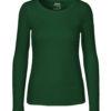 Flaskegrønn trøye - 100 % økologisk bomull» Etiske & økologiske klær » Grønt Skift