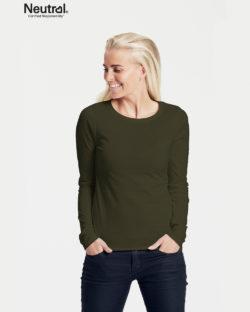 Militærgrønn trøye - 100 % økologisk bomull» Etiske & økologiske klær » Grønt Skift