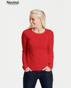 Rød trøye - 100 % økologisk bomull» Etiske & økologiske klær » Grønt Skift