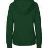 Flaskegrønn hettegenser - 100 % økologisk bomull » Etiske & økologiske klær » Grønt Skift
