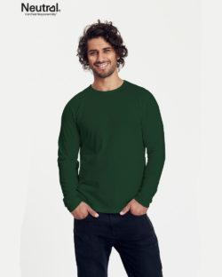 Flaskegrønn trøye - 100 % økologisk bomull » Etiske & økologiske klær » Grønt Skift