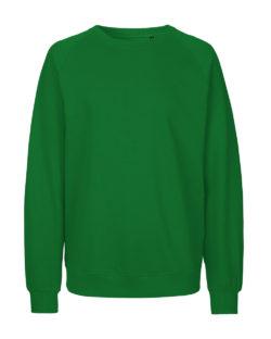 Grønn unisex collegegenser - 100 % økologisk bomull » Etiske & økologiske klær » Grønt Skift
