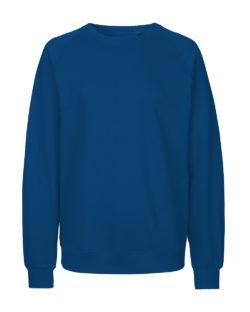 Blå unisex collegegenser - 100 % økologisk bomull » Etiske & økologiske klær » Grønt Skift