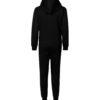 Svart jumpsuit til barn - 100 % økologisk bomull » Etiske & økologiske klær » Grønt Skift
