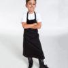 Svart forkle til barn - 100 % økologisk bomull » Etiske & økologiske klær » Grønt Skift