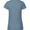 Indigo slightly fitted t-skjorte - 100 % økologisk bomull » Etiske & økologiske klær » Grønt Skift