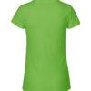 Lime slightly fitted t-skjorte - 100 % økologisk bomull » Etiske & økologiske klær » Grønt Skift
