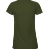 Militærgrønn slightly fitted t-skjorte - 100 % økologisk bomull » Etiske & økologiske klær » Grønt Skift