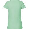 Mintgrønn slightly fitted t-skjorte - 100 % økologisk bomull » Etiske & økologiske klær » Grønt Skift
