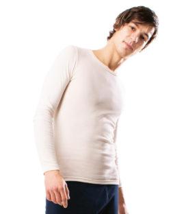 Naturhvit trøye - 100 % økologisk bomull » Etiske & økologiske klær » Grønt Skift