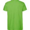 Limegrønn slightly fitted t-skjorte - 100 % økologisk bomull » Etiske & økologiske klær » Grønt Skift