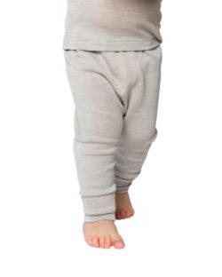 Grå bukse i 70 % økologisk ull og 30% silke » Etiske & økologiske klær » Grønt Skift