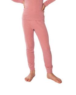 Rosa stillongs i 70 % økologisk ull og 30% silke » Etiske & økologiske klær » Grønt Skift