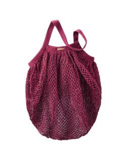 Rødt nett i 100 % økologisk bomull » Etiske & økologiske klær » Grønt Skift