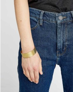 Håndlaget armring - 100 % messing » Etiske & økologiske klær » Grønt Skift