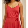 Rød marcy kjole - tencel og økologisk bomull » Etiske & økologiske klær » Grønt Skift