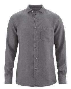 Grå skjorte - 100 % ren hamp » Etiske & økologiske klær » Grønt Skift