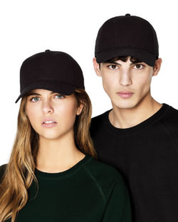 Svart baseballcaps - 100% økologisk bomull » Etiske & økologiske klær » Grønt Skift