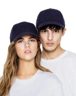 Navy baseballcaps - 100% økologisk bomull » Etiske & økologiske klær » Grønt Skift
