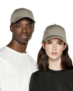 Steingrå baseballcaps - 100% økologisk bomull » Etiske & økologiske klær » Grønt Skift