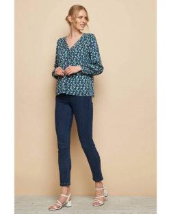 Langermet bluse med knapper - 100 % EcoVero™ viskose » Etiske & økologiske klær » Grønt Skift