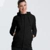 Svart unisex hettejakke - 100 % økologisk bomull » Etiske & økologiske klær » Grønt Skift