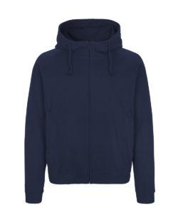 Navy unisex hettejakke - 100 % økologisk bomull » Etiske & økologiske klær » Grønt Skift