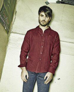 Vinrød skjorte - 100 % ren hamp » Etiske & økologiske klær » Grønt Skift