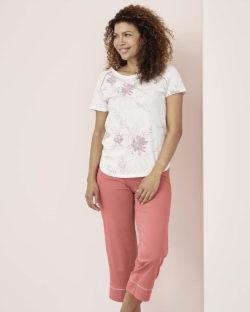 Rødrosa pysjbukse - 100 % økologisk bomull » Etiske & økologiske klær » Grønt Skift