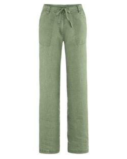 Grønn sommerbukse i 100 % hamp » Etiske & økologiske klær » Grønt Skift