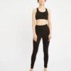 Svart tights til trening og yoga - økologisk bomull » Etiske & økologiske klær » Grønt Skift