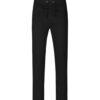 Svart unisex joggebukse med vide ben - 100 % økologisk bomull » Etiske & økologiske klær » Grønt Skift