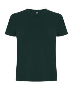 Flaskegrønn unisex t-skjorte i 100 % økologisk fairtrade bomull » Etiske & økologiske klær » Grønt Skift
