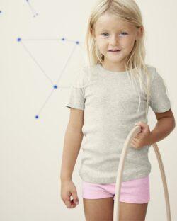 Lys rosa truse til jente i 100 % økologisk bomull » Etiske & økologiske klær » Grønt Skift