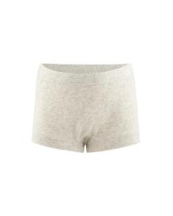 Lys beige truse til jente i 100 % økologisk bomull » Etiske & økologiske klær » Grønt Skift