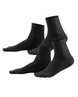 2 par tynne svarte sokker i 95 % bio-fiber og 5 % elastan » Etiske & økologiske klær » Grønt Skift