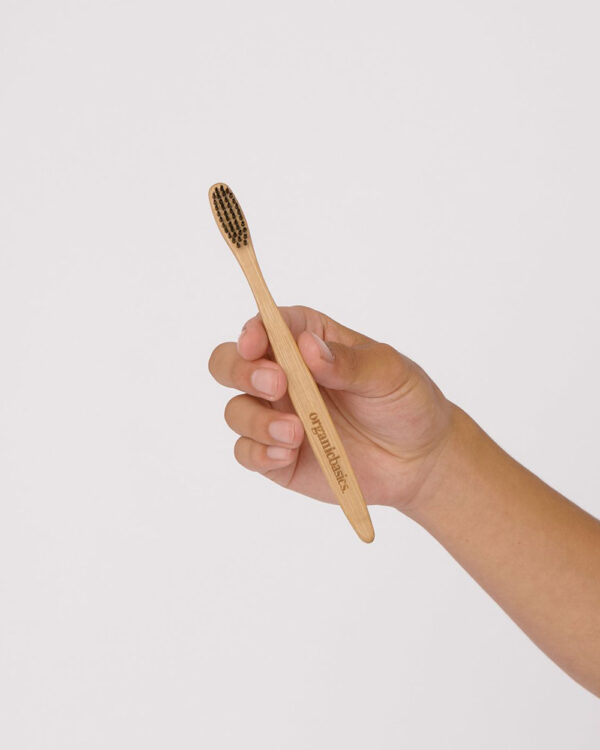 2 pack tannbørster med bambushåndtak » Etiske & økologiske klær » Grønt Skift