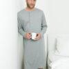 Unisex retro nattkjole - 100 % økologisk bomull » Etiske & økologiske klær » Grønt Skift