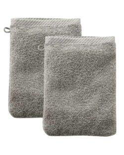 Gråbeige 2 pk. vaskeklut i 100 % økologisk bomull » Etiske & økologiske klær » Grønt Skift