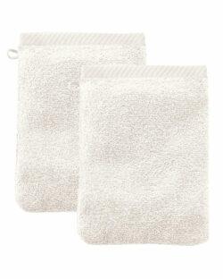 Naturhvit 2 pk. vaskeklut i 100 % økologisk bomull » Etiske & økologiske klær » Grønt Skift