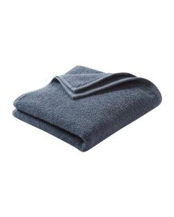 Blått håndhåndkle i 100 % økologisk bomull » Etiske & økologiske klær » Grønt Skift