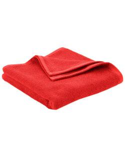Rødt håndhåndkle i 100 % økologisk bomull » Etiske & økologiske klær » Grønt Skift