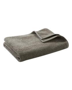Gråbeige badehåndkle i 100 % økologisk bomull » Etiske & økologiske klær » Grønt Skift
