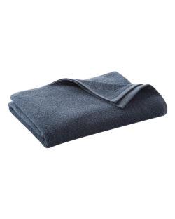 Blått badehåndkle i 100 % økologisk bomull » Etiske & økologiske klær » Grønt Skift