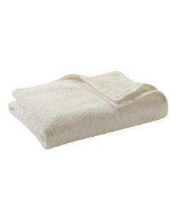 Naturhvitt badehåndkle i 100 % økologisk bomull » Etiske & økologiske klær » Grønt Skift